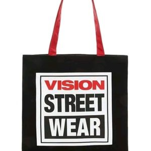 Vision Street Wear Unisex Canvas Tota Bag, F21